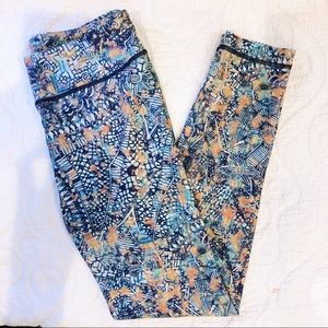 W.I.T.H. (Wear It To Heart) Printed Crop Leggings